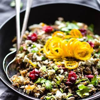 Crock Pot Autumn Quinoa Pilaf{Gluten Free, Vegetarian}.