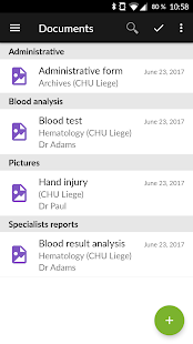 Andaman7 - Sync health records- screenshot thumbnail
