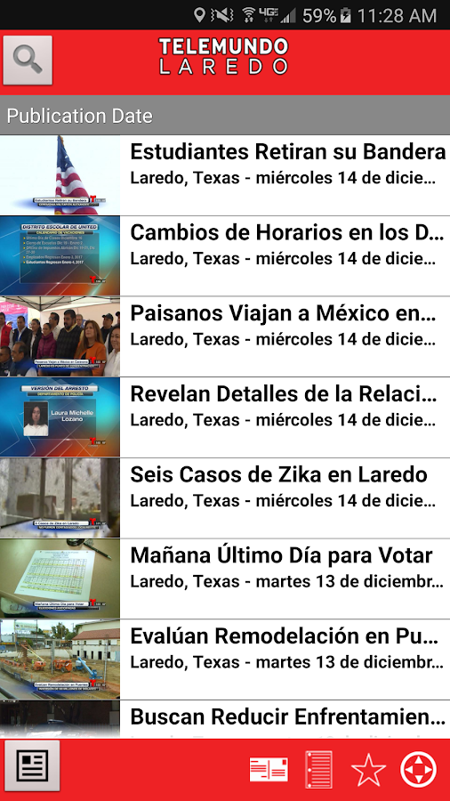 Telemundo Laredo- screenshot