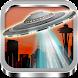 UFOのカメラフォトモックアップ
