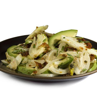 Fennel, Avocado, and Mint Salad