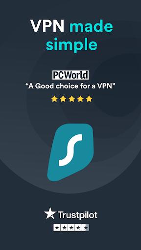 Surfshark VPN - Secure VPN for privacy & security 2.6.5 screenshots 1