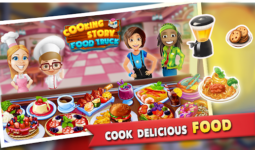 Cooking Story : Food Truck Game 2.6 MOD for Android 1