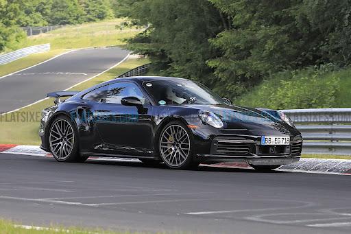 Spied: 992-generation Porsche 911 Turbo Hybrid flogging at the Nürburgring again
