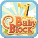 Baby puzzle block icon