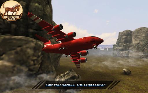 Plane Pilot Flying Simulator