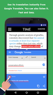 Translation Browser Free- screenshot thumbnail