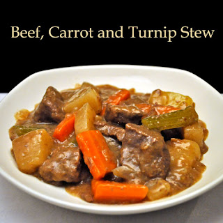 Beef, Carrot and Turnip Stew