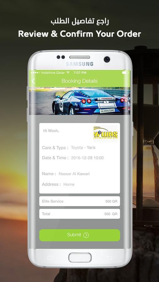 Speedli - Carwash Booking- screenshot