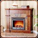 Home Fireplace Design Idea icon
