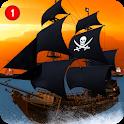 Caribbean Sea Outlaw Pirate Ship Battle 3D icon