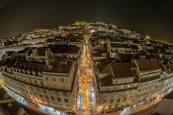 Dal cielo sopra Lisbona di Scaletta