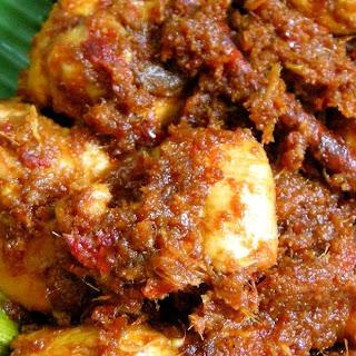 Nyonya Curry Chicken.