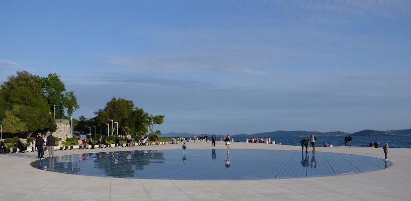 Gruß an die Sonne  in Zadar