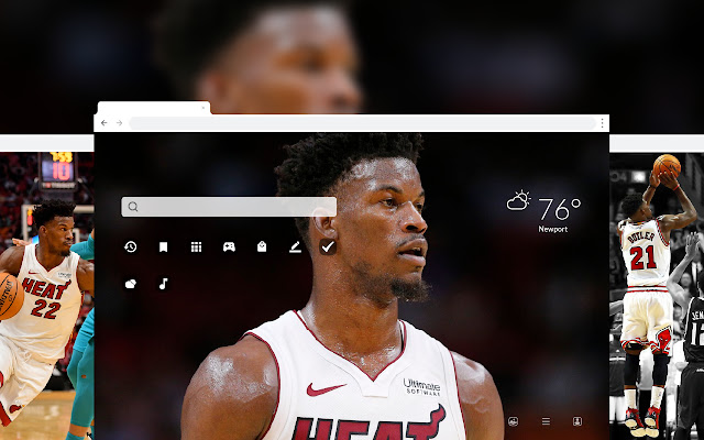 Jimmy Butler HD Wallpapers New Tab