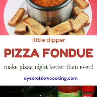 Little Dipper Pizza Fondue Recipe