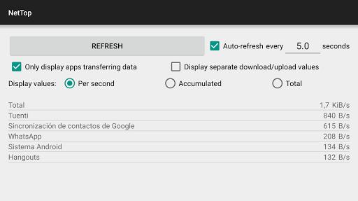 NetTop: RealTime Network Meter screenshot 8