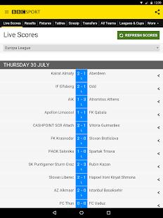 BBC Sport- screenshot thumbnail