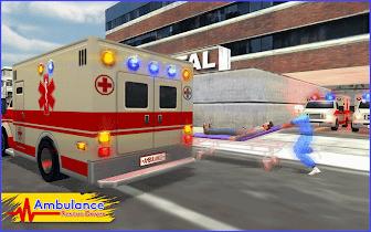 Ambulance Rescue Driver 2017 - screenshot thumbnail 09