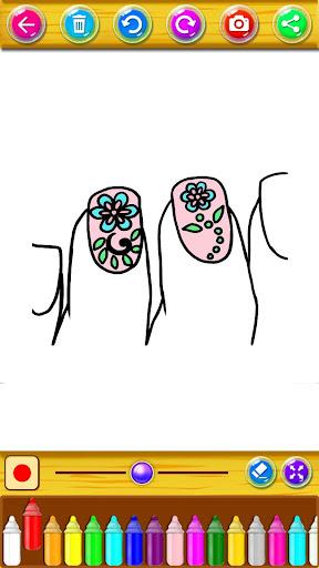 Coloring Fashion Nail Salon 1.0.2 screenshots 7