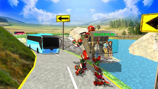 Bus Robot Transforming Game - Passenger Transport 1.1 screenshots 8