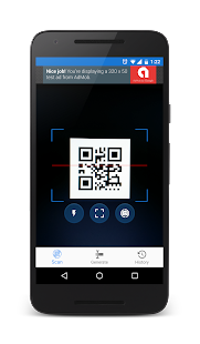 QR and barcode scanner and generator for Android 3