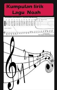 Lirik Lagu Noah Terbaru - Android Apps on Google Play