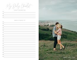 Couple Daily Checklist - Planner item