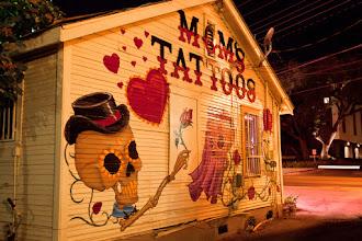 Photo: Mom's Tattoos parlor mural - Austin, Texas