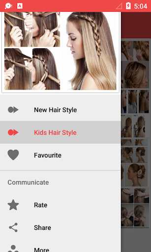 Girls Hairstyle Step by Step 1.0.4 screenshots 13