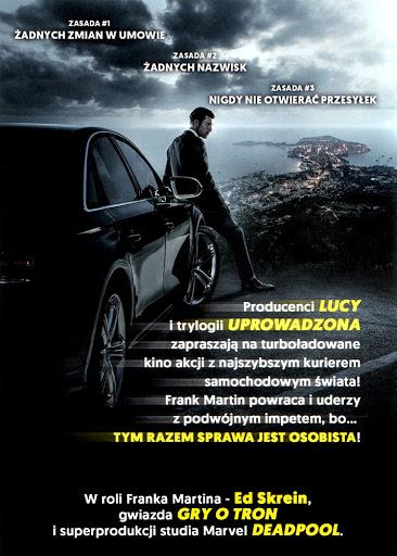 Tył ulotki filmu 'Transporter: Nowa Moc'