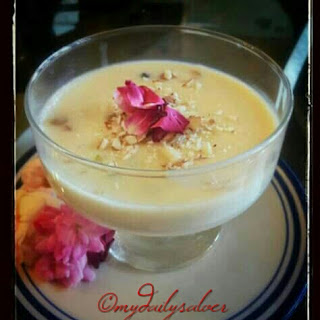 Recipe Gulab Phirni / Rose Phirni Recipe