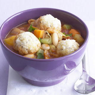 Vegetable Stew with Caraway Dumplings