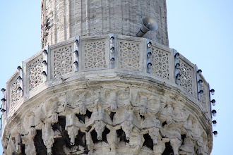 Photo: Day 110 - Filigree Work and Loudspeaker on one of the Minorets of The Blue Mosque