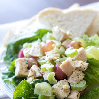 Light and Healthy Chicken Salad