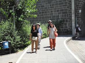 Photo: At Diyarbakir with Nuran Yılmaz, archeologist, our big friend and outstending guide to Kurdistan secrets
