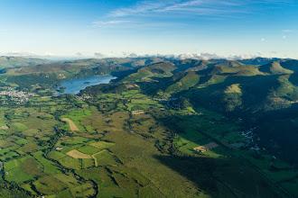 Photo: La plaine face au Fell autour de Keswick et de Derwent Water