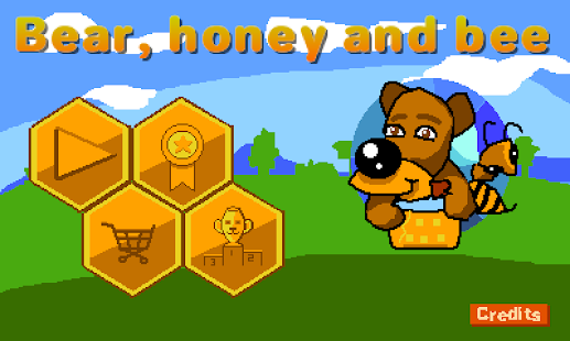 Bear, honey and bee- screenshot thumbnail