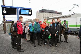 Photo: Joka vie rautatieasemalle.