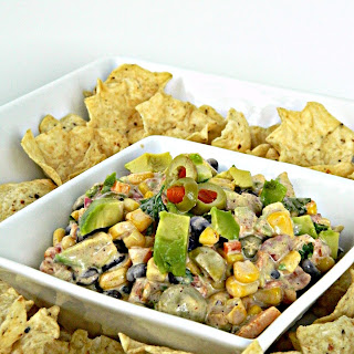 Corn & Black Bean Salsa Dip