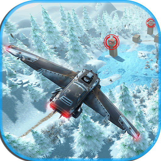 Futuristic Flying car - Flying shooter game file APK for Gaming PC/PS3/PS4 Smart TV