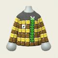 ブロックのボーダーシャツ