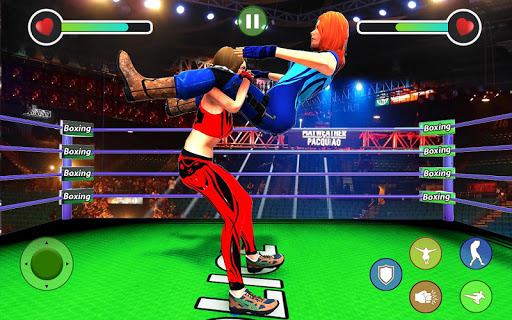 BodyBuilder Ring Fighting Club: Wrestling Games 1.1 screenshots 9