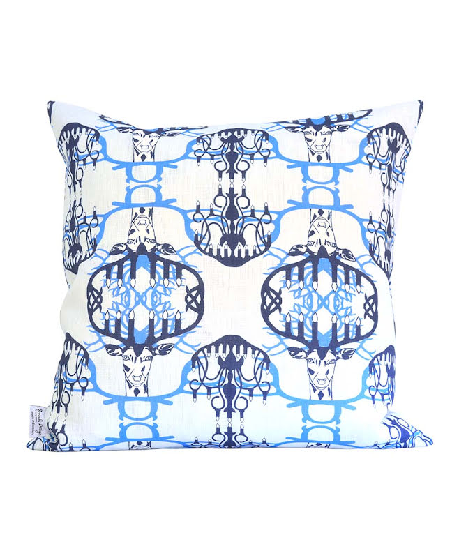 Kuddfodral Nordic Light blå 48x48 cm