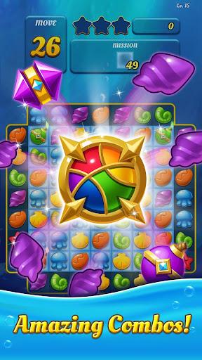 Ocean Splash Match 3: Free Puzzle Games 3.0.4 screenshots 1