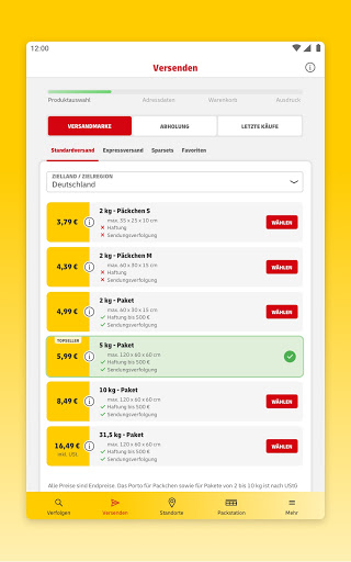 DHL Paket  screenshots 20