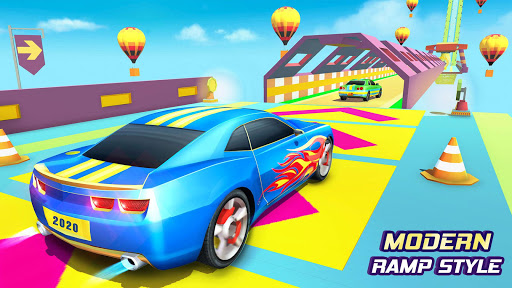 Furious Car Stunts Mega Ramp Car Racing Games 3.8 screenshots 4