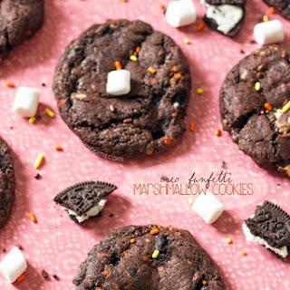 Oreo Funfetti Marshmallow Cookies Recipe