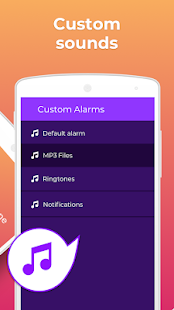 Don't touch my phone: Motion alarm app Screenshot