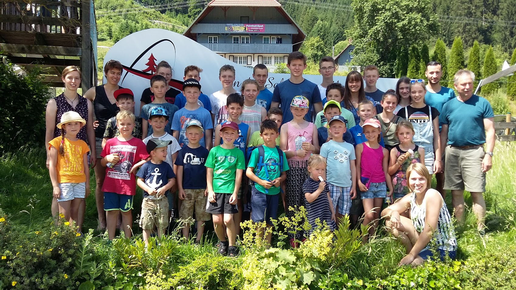 Sommerrodeln und Sommerfest